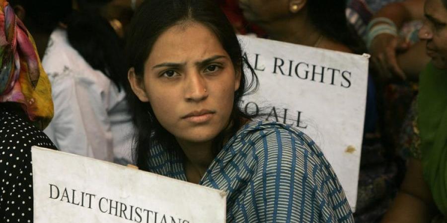 印度基督徒賤民起革命 爭取平等公民權