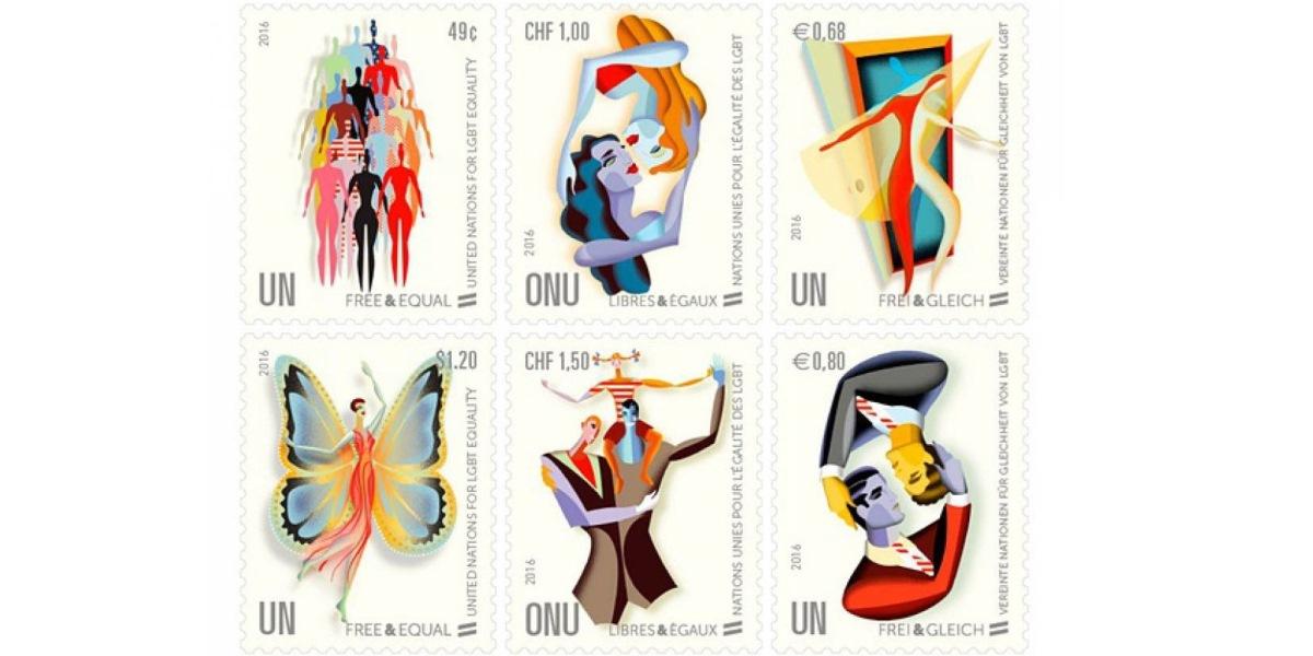 聯合國發行同性戀及跨性別郵票