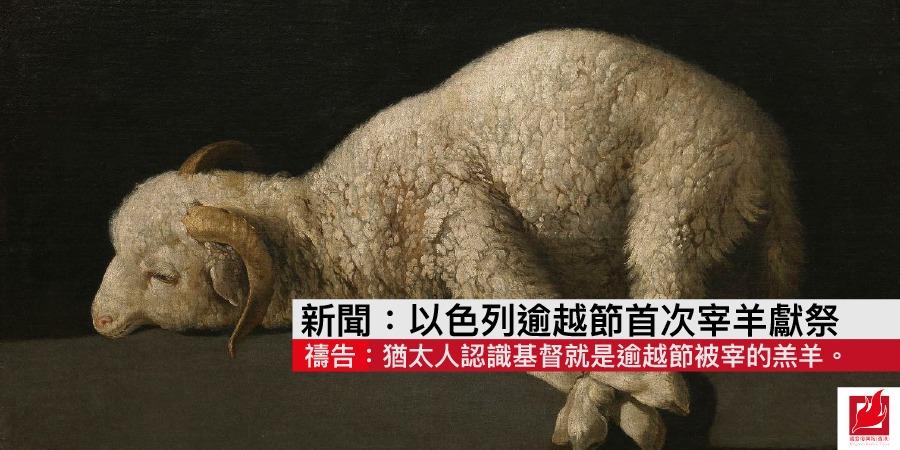 以色列逾越節首次宰羊獻祭